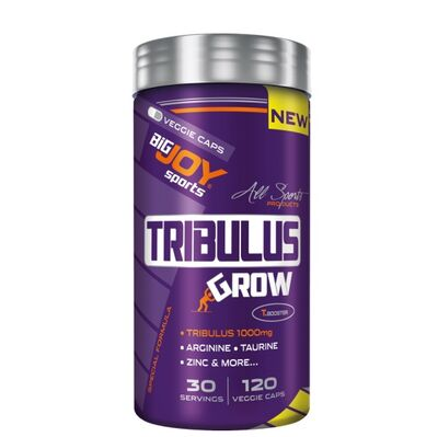Bigjoy Sports Ürünleri - Bigjoy Sports Tribulus Grow Kapsül 120 lik