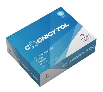 Aceso Pharma - Cognicytol 30 Tablet