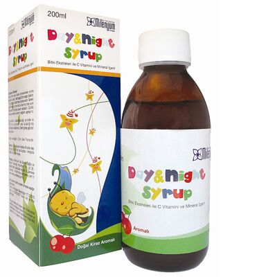 Milenyum Farma - Day - Night Şurup 200ml