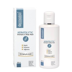 Dermoskin Ürünleri - Dermoskin Keratolytic Shampoo & Body Wash 200 ml