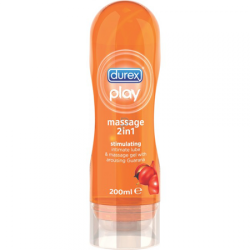 Durex Prezervatifleri - Durex Play Masaj 2 in 1 Jel 200 ML (Stimulating)