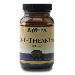 LifeTime Vitaminleri - Life Time Q-L-Theanine 200 mg 30 Kapsül