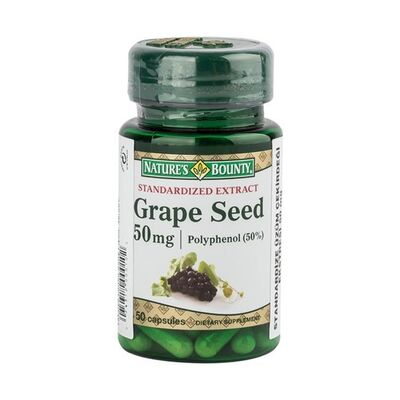 Natures Bounty Ürünleri - Natures Bounty Grape Seed Extract 50 mg 50 Kapsül