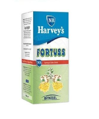 Nurse Harveys - Nurse Harveys Fortuss Sıvı TEG 150ml Şurup