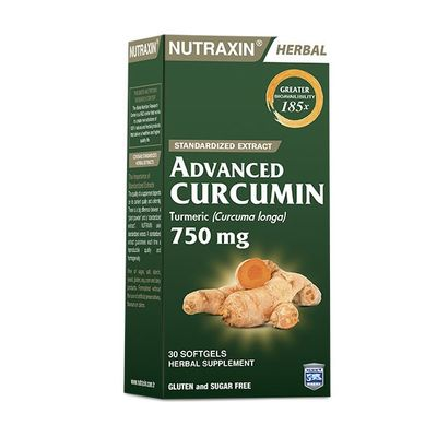 Nutraxin Ürünleri - Nutraxin Advanced Curcumin 750mg Softgel 30 luk