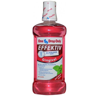 One Drop Only Ürünleri - One Drop Only Gingival Alkolsüz Ağız Gargarası 500 ml