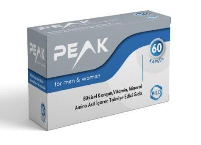 Bild Pharma Ürünleri - Peak For Men and Women Kapsül 60 lık