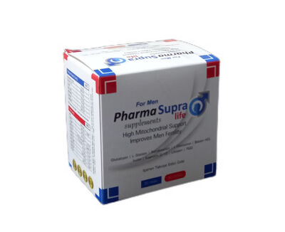 Supralife Pharma Ürünleri - Supralife Supplements For Men Saşe 30 luk + 30 Kapsül