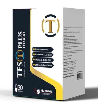 Fizyopol İlaç - Test Plus Tribulus Tablet 30 luk